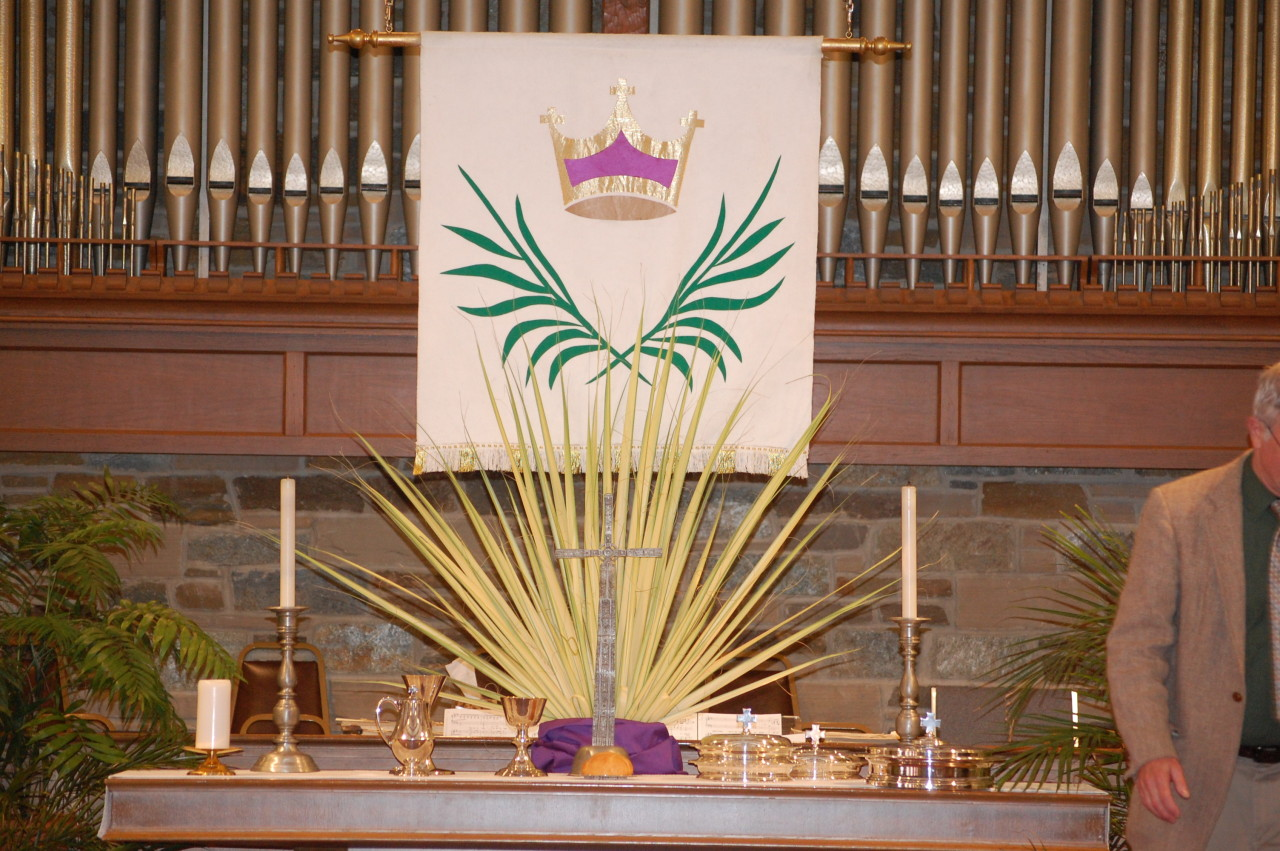 Palm Sunday Alter